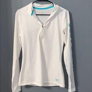 Nike fleece lined quarter zip